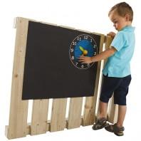 Accesoriu pentru locuri de joaca - Tabla de scris cu ceas