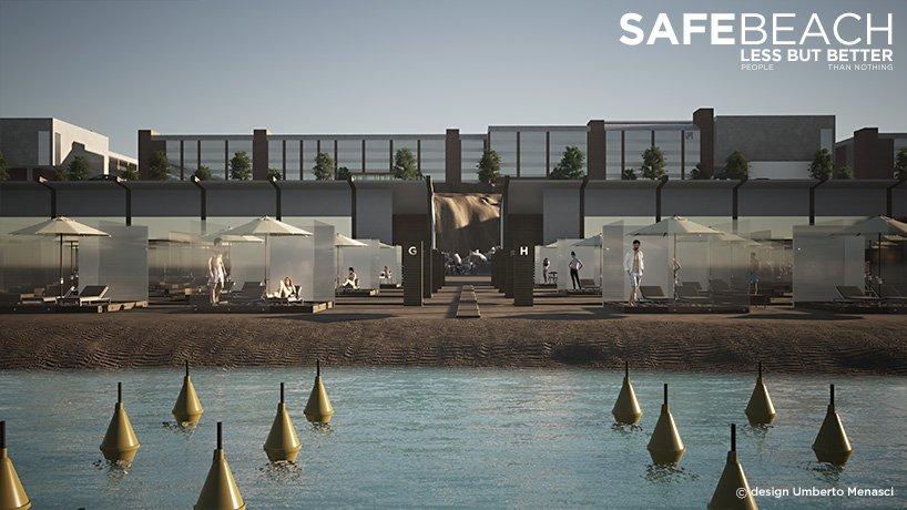 Soluţia unui designer pentru a face plajă în siguranţă în această vară