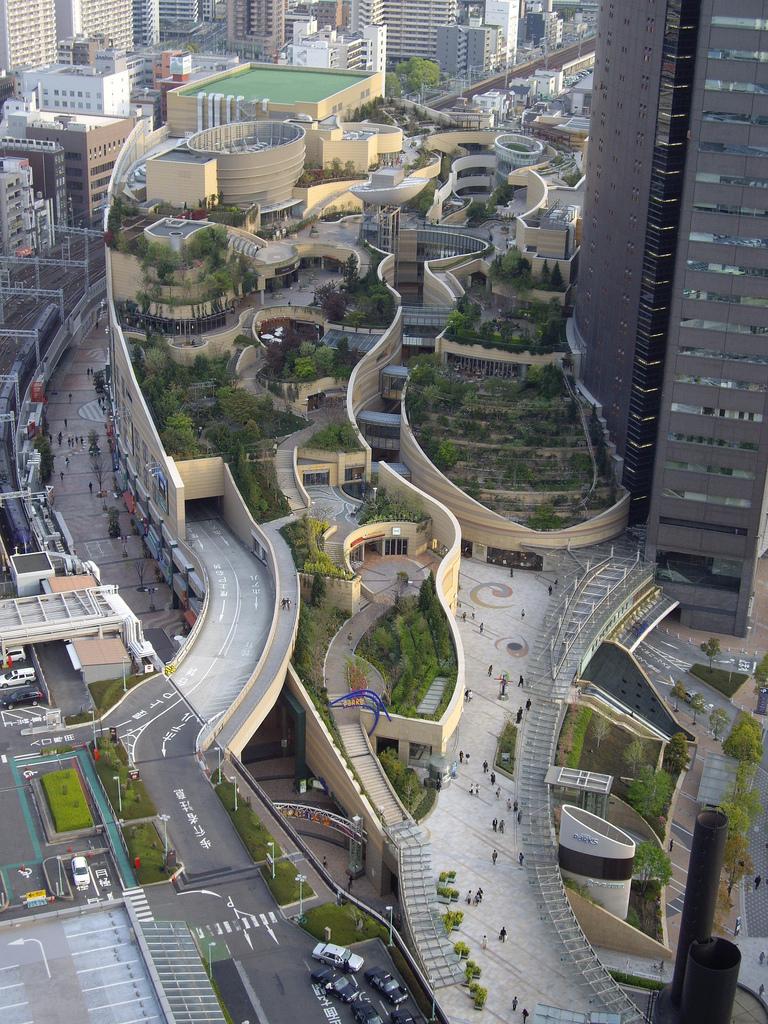 Namba Parks - Osaka, Japonia
