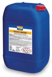 Clor lichid pentru dezinfectarea apei din piscine - CLOR LICHID