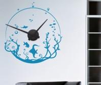 """Sticker tip ceas de perete """"Acvariu"""""""