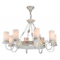 Lustra RC562-PL-08-W White with Gold