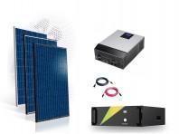 Sistem fotovoltaic Off-Grid 5kw cu baterie LifePo4 100Ah