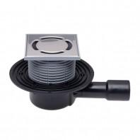 Sifon de pardoseala DN40/50 cu iesire verticala cu obturator de mirosuri PRIMUS - HL510NPr