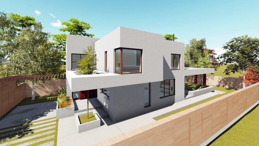 Vila unifamiliala Sp+P+E - Bragadiru 18.03  Bragadiru AsiCarhitectura
