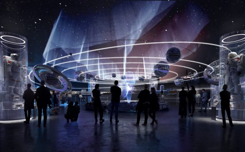 Un muzeu futurist ce pluteşte ca un nor deasupra junglei