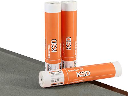 Bariera de vapori autoadeziva la rece cu bitum elastomer - BauderTEC KSD