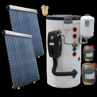 Pachet Solar C205 cu boiler bivalent