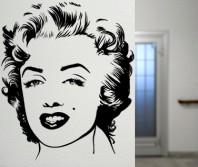 Sticker Portret Marilyn Monroe - Beestick