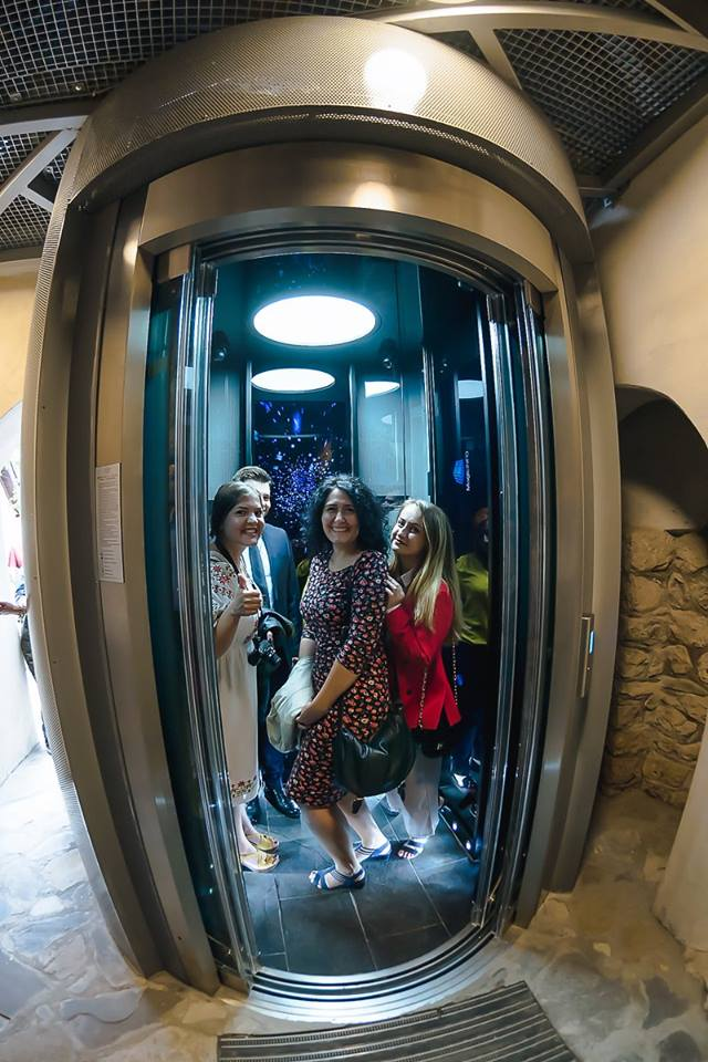 Liftul din Tunelul Timpului de la Castelul Bran câștigă un prestigios premiu internațional