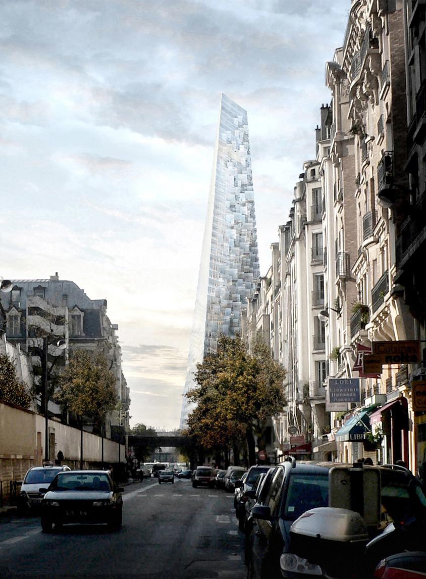 Primul zgârie-nori din Paris din ultima jumătate de secol