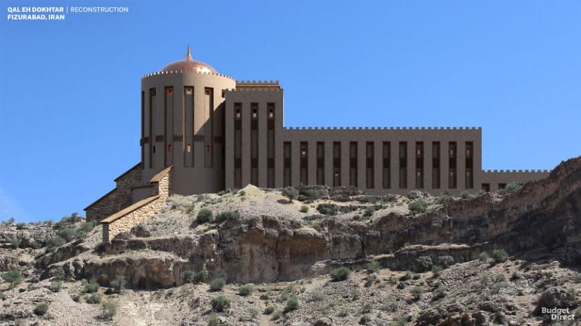 Qal'eh Dokhtar, Iran