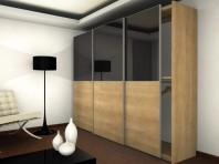 Usi glisante aplicate pentru dulapuri - Aliante