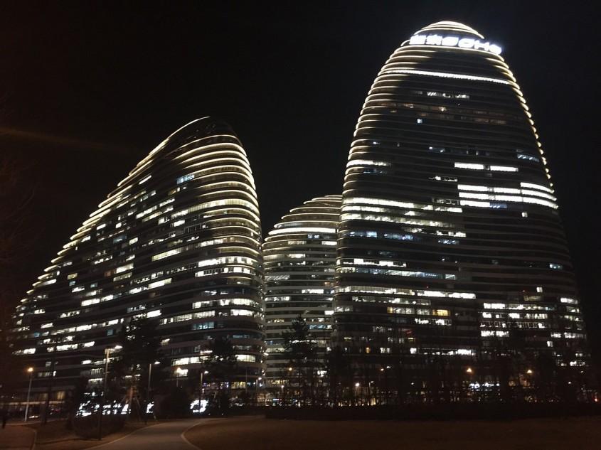 Complexul Wangjing Soho, Beijing - Zaha Hadid