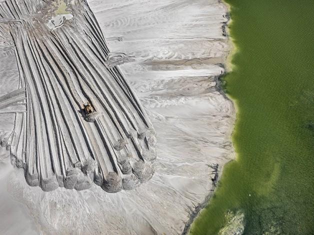 Iaz minier de fosfor, Florida, 2012
