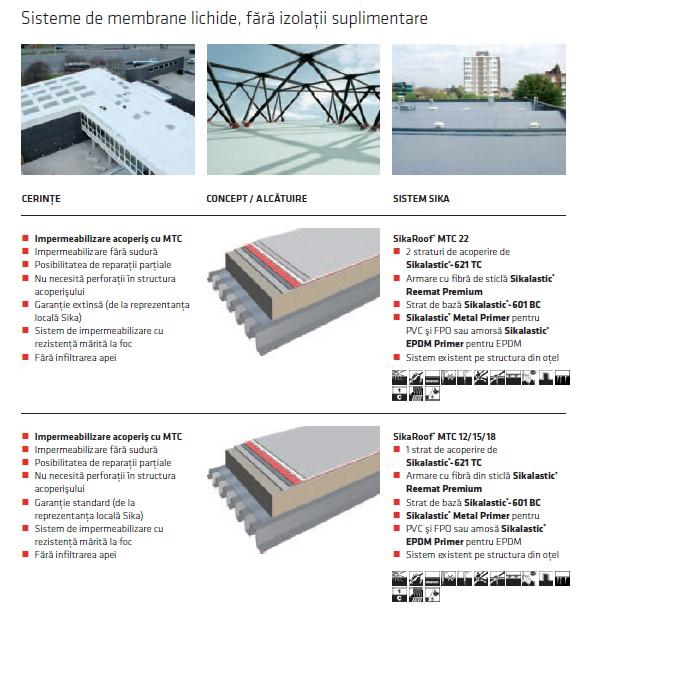 Soluții pentru recondiționarea acoperișurilor polimerice - EPDM, PVC, FPO
