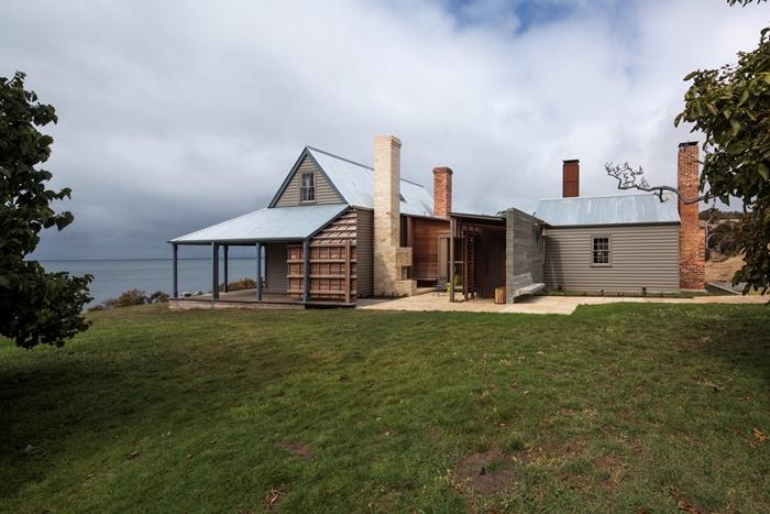 Captain Kelly's Cottage de pe Insula Bruny, Tasmania - de John Wardle Architects