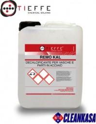 Detergent profesional detartrant, dezincrustant, dezoxidant pentru curatat metal inox - TIEFFE REMO KAL HW