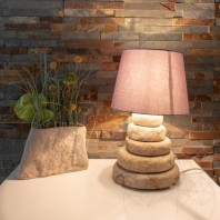 Veioza Sandstone Mandras 50cm (Corpuri de iluminat) PIATRAONLINE  AG-3008