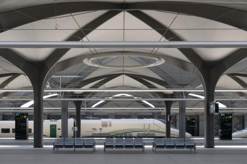 Cum arată o gară ultramodernă dintr-o țară arabă