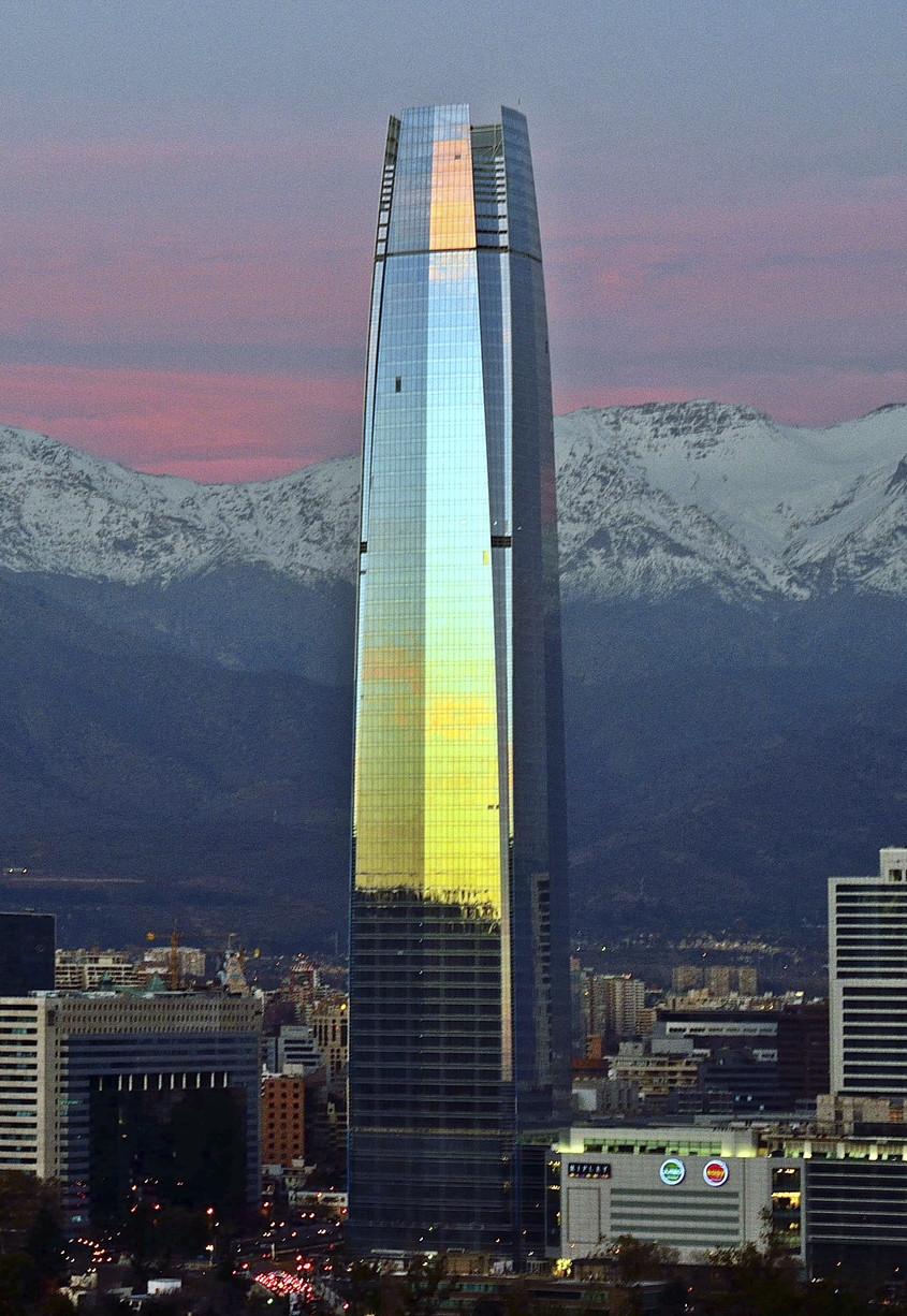 Torre Costanera, Santiago, 2014
