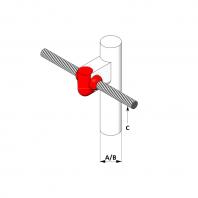 Conexiune exotermica tarus impamantare cu conductor rotund