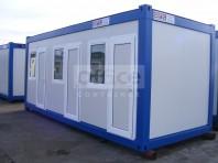 Container modular tip dormitor