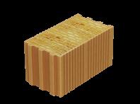 Caramida izolanta cu vata bazaltica cu nut si feder pentru pereti neportanti de inchidere si de