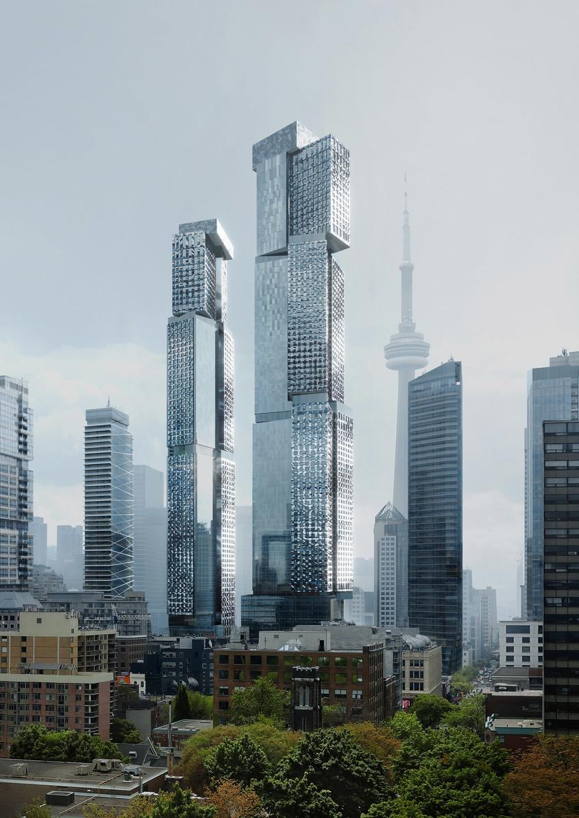 Arhitectul nonagenar Frank Gehry lucrează la cea mai înaltă clădire a sa de până acum
