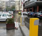 Sistem de parcare cu plata automata instalat in Moldova Mall, Iasi