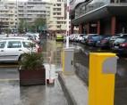 Sistem de parcare cu plata automată instalat în Moldova Mall, Iași