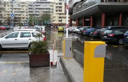 Parcarea Moldova Mall cu sistemul Equinsa instalat  Iasi TRITECH GROUP
