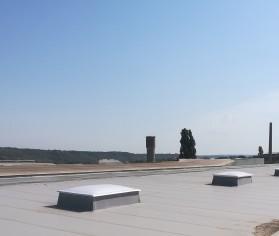 Luminatoare fixe și modulare, integrate impreuna cu trape de ventilație pentru ASA Cons Romania
