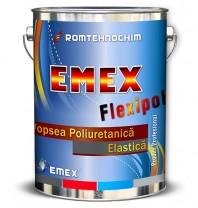 Vopsea Poliuretanica Elastica EMEX FLEXIPOL, Gri