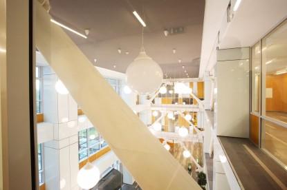 Prelucrare sticla complex de birouri S-Parc  Bucuresti SPECTRUM INOVATIV & INDUSTRIES