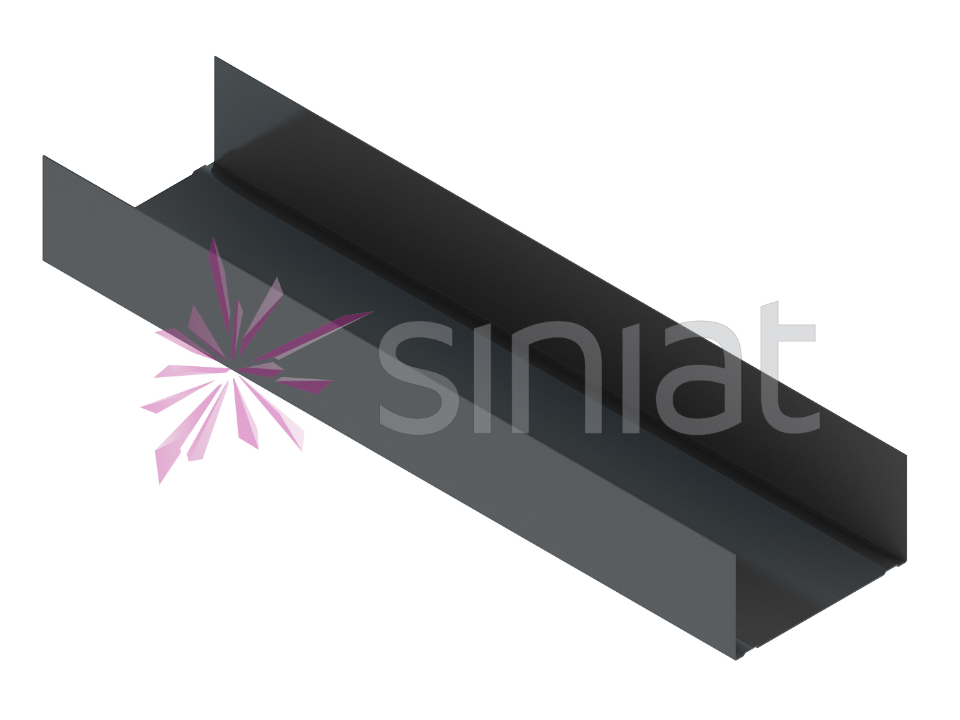 Profil NIDA Metal UW75 ZN275 (rezistent la umezeala)