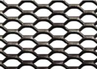Grilaje din tabla expandata - hexagonal/rotund