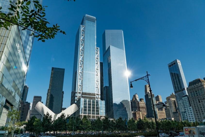 World Trade Center renaște turn după turn A fost ridicat un nou zgârie-nori pe locul turnurilor