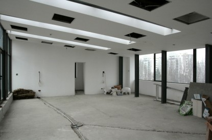 Aspect sala de consiliu inainte de amenajare  Bucuresti SAINT-GOBAIN CONSTRUCTION PRODUCTS ROMANIA - DIVIZIA RIGIPS