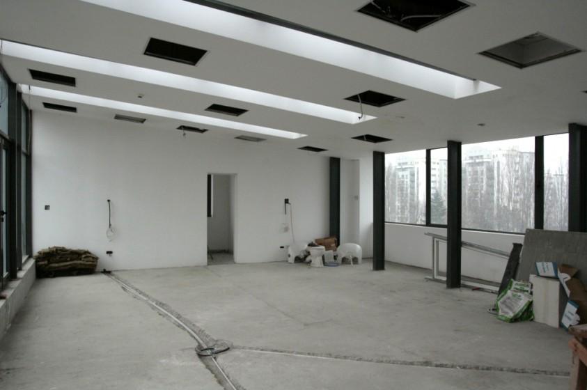 Aspect sala de consiliu inainte de amenajare  Bucuresti SAINT-GOBAIN CONSTRUCTION PRODUCTS ROMANIA - DIVIZIA RIGIPS
