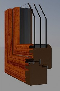 Fereastra din lemn - TIPUL LUX