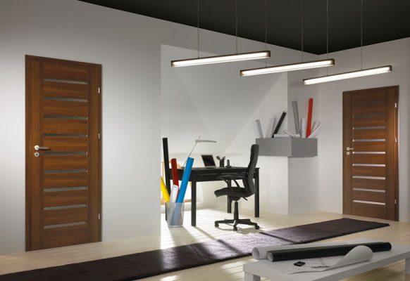 Porta Concept Model A.B, culoare: Nuc