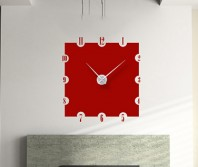 """Sticker tip ceas de perete """"Patrat"""""""