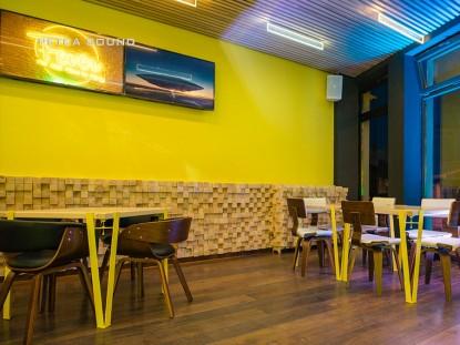 Instalare sistem sonorizare si lumini intr-un pub din Constanta  Constanta PETEA Sound