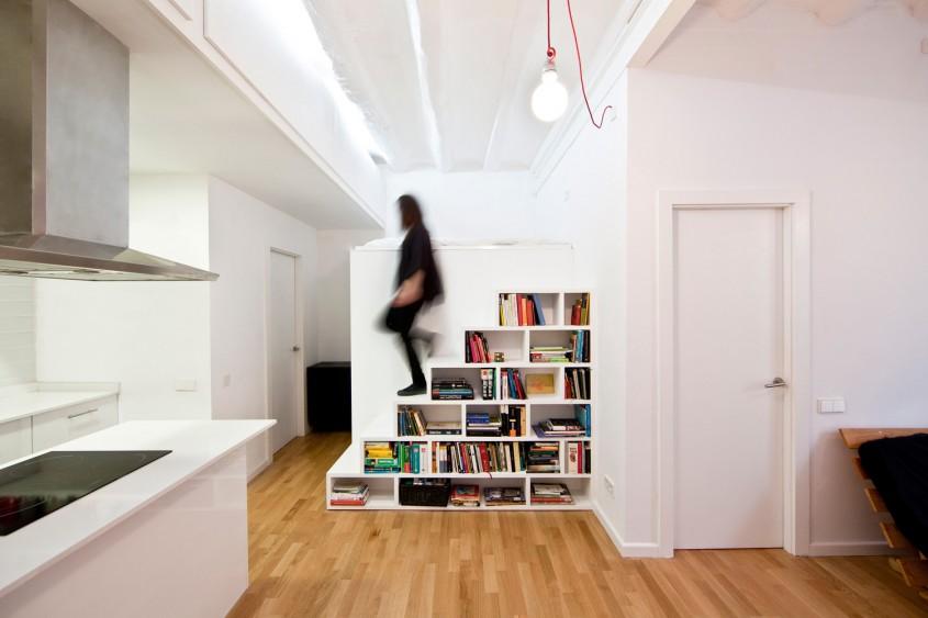 Soluții de depozitare pentru spații mici, propuse de un arhitect