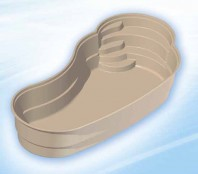 Piscina rezidentiala din fibra de sticla - LAGUNA