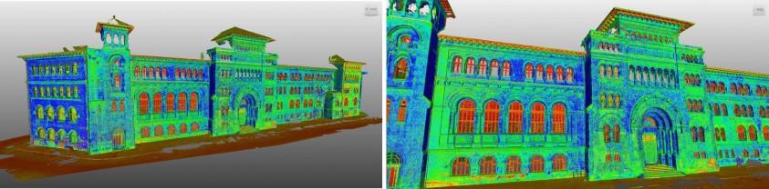 Scanari 3D pentru Universitatea de Arhitectura Ion Mincu  Bucuresti GRAPHEIN GRAPHEIN