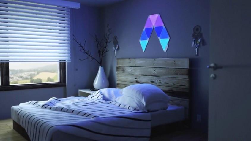 Exprimă-ţi creativitatea în locuinţa ta cu ajutorul panourilor inteligente Nanoleaf