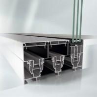 Sistem de profile din aluminiu pentru usi glisante - Schüco ASS 77 PD.HI