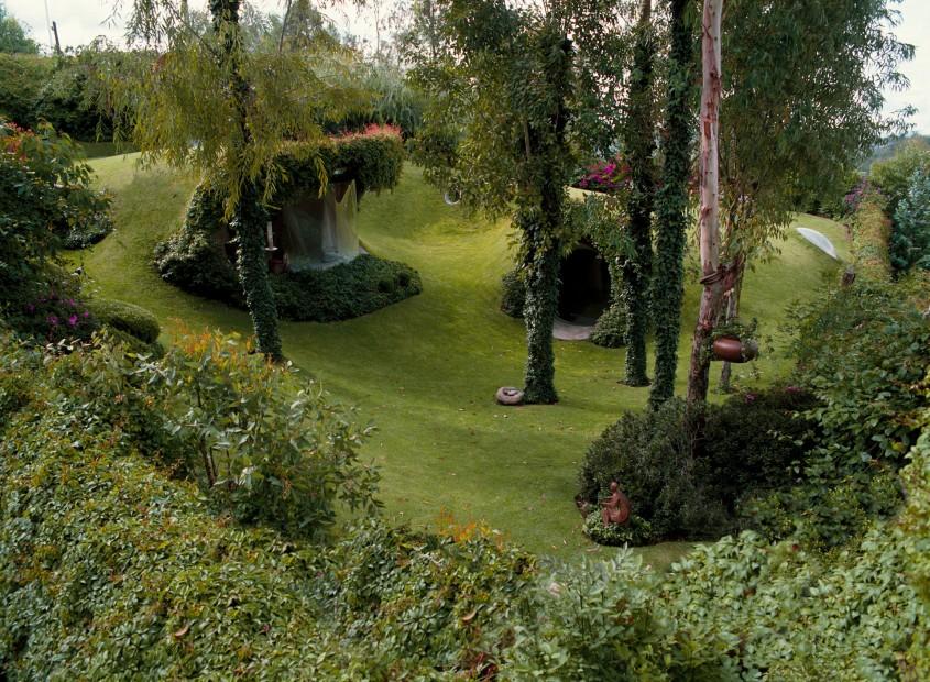 Casa pe care nu o vezi: Un exemplu remarcabil de arhitectură organică